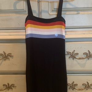 Aeropostale bodycon dress stripes